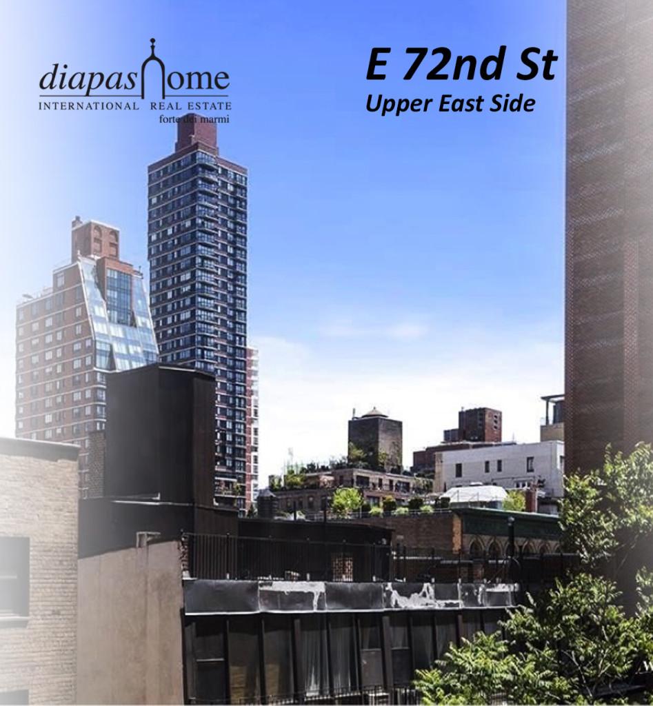 E 72nd St new york city