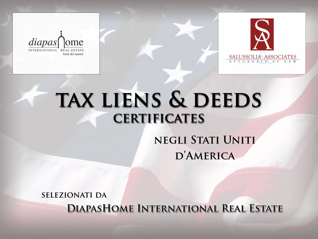 tax liens deeds certificates