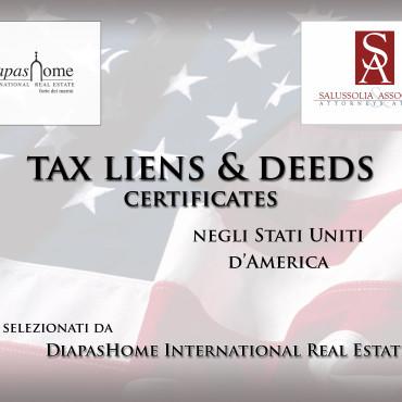 Tax Liens & Deeds Certificates