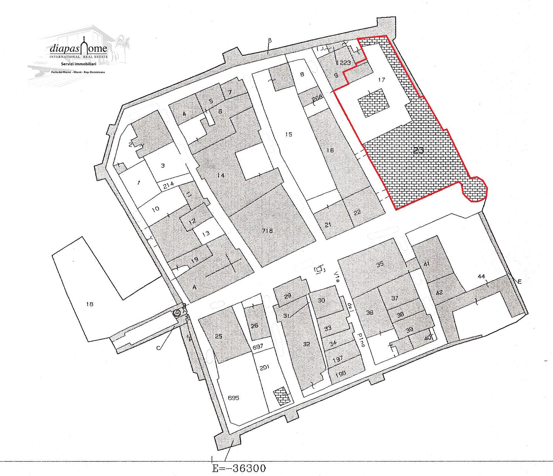Castello,Umbria,diapashome,planimetria,1